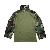 2018 TMC2899 WL G3 Tactical frog Suit NYCO Fabric Tactical Woodland Frog Shirt WL training shirt