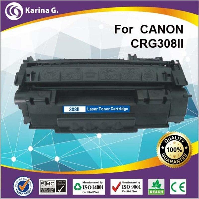 HIGH PAGE YIELD compatible TONER for CRG308 CRG508 DURM UNIT 6000 page yield for HP LaserJet 1320 Canon LBP-3300 lbp-3360 2880 4c потолочная люстра металл хрусталь odeon light