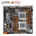 HUANAN ZHI X79-8D Moederbord Intel Dual CPU LGA 2011 E5 2689 2670 V2 DDR3 1333/1600/1866 MHz 256 GB M.2 NVME SATA3 USB3.0 E-ATX