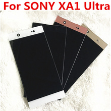 цена на original For Sony Xperia XA1 Ultra G3221 G3212 G3223 G3226 Lcd Screen Display WIth Touch Glass Digitizer Assembly Repair Parts