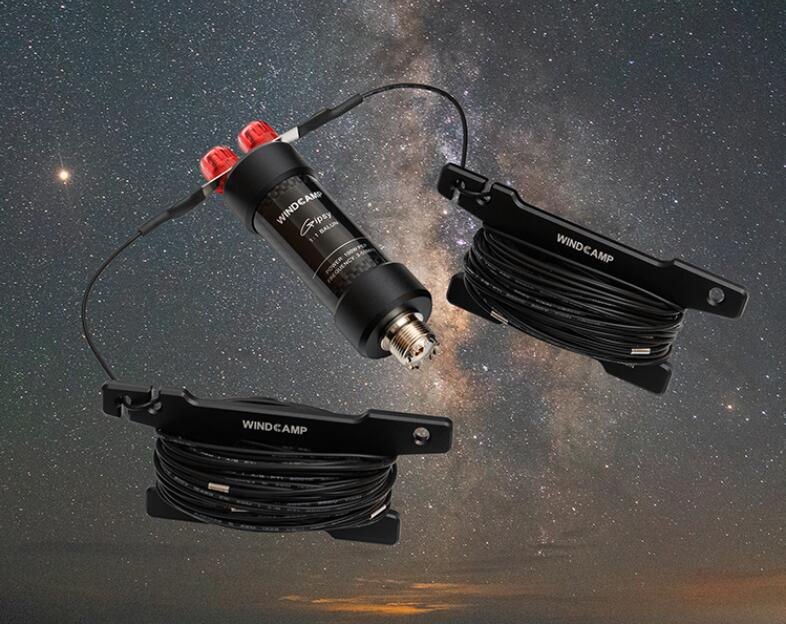 2019 nouvelle mise à jour de l'antenne dipolaire horizontale verison Gipsy 5-50MHz 9 bandes HF fourmi pour Radio jambon avec Balun étanche