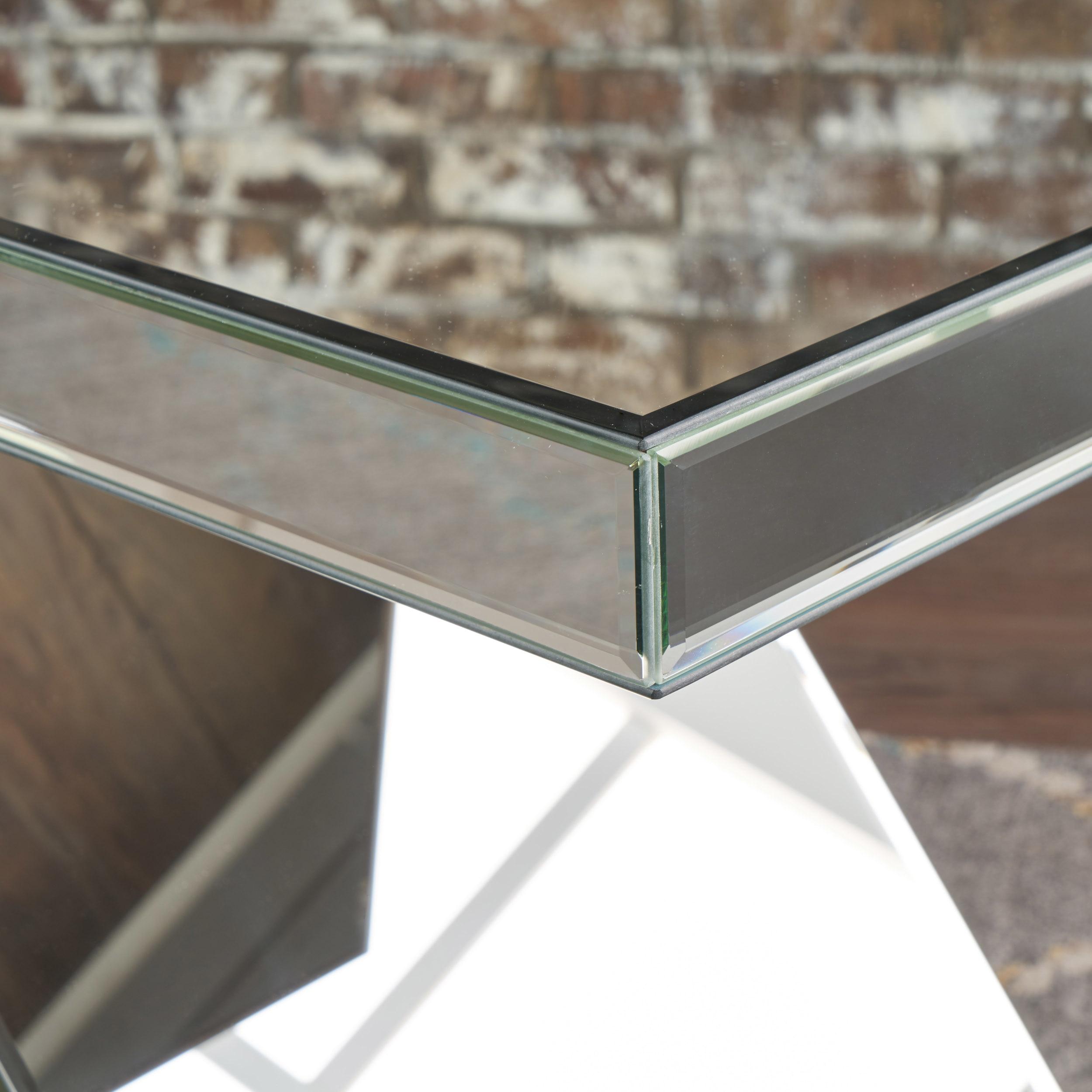 Adu Mirrored Z Shaped Side Table (1)