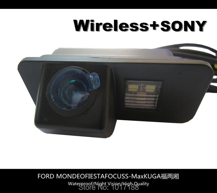 HD WIFI camera Wireless Car Rear View Camera SONY Chip For FORD MONDEO FIESTA FOCUS S