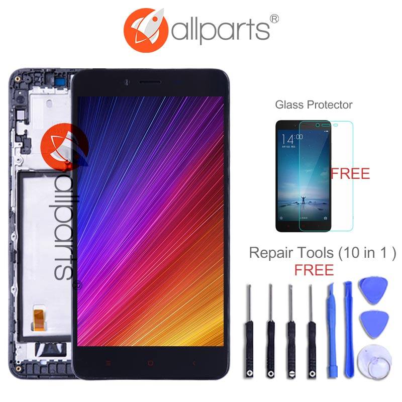 For XIAOMI Redmi Note 2 Display Touch Screen Digitizer Assembly Replacement NO Dead Pixels 5.5  FHD LCD For Redmi Note 2 LCD