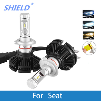 LED Car Headlight Bulb H4 H7 H11 H1 H3 H8 H9 9005 9006 12V 12000LM LED Auto Lamp For Seat leon/ibiza/altea/ateca/cordoba/exeo led car headlight bulb h4 h7 led h11 h1 h27 9005 9007 12v 50w 12000lm led auto lamp for skoda octavia citigo rapid fabia superb