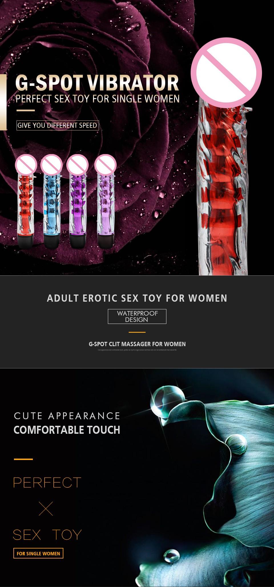HTB1hciWKFXXXXc.aXXXq6xXFXXXj - Multi Speed Silicone G Spot Classic Vibrator 7 Inches Sex Toy