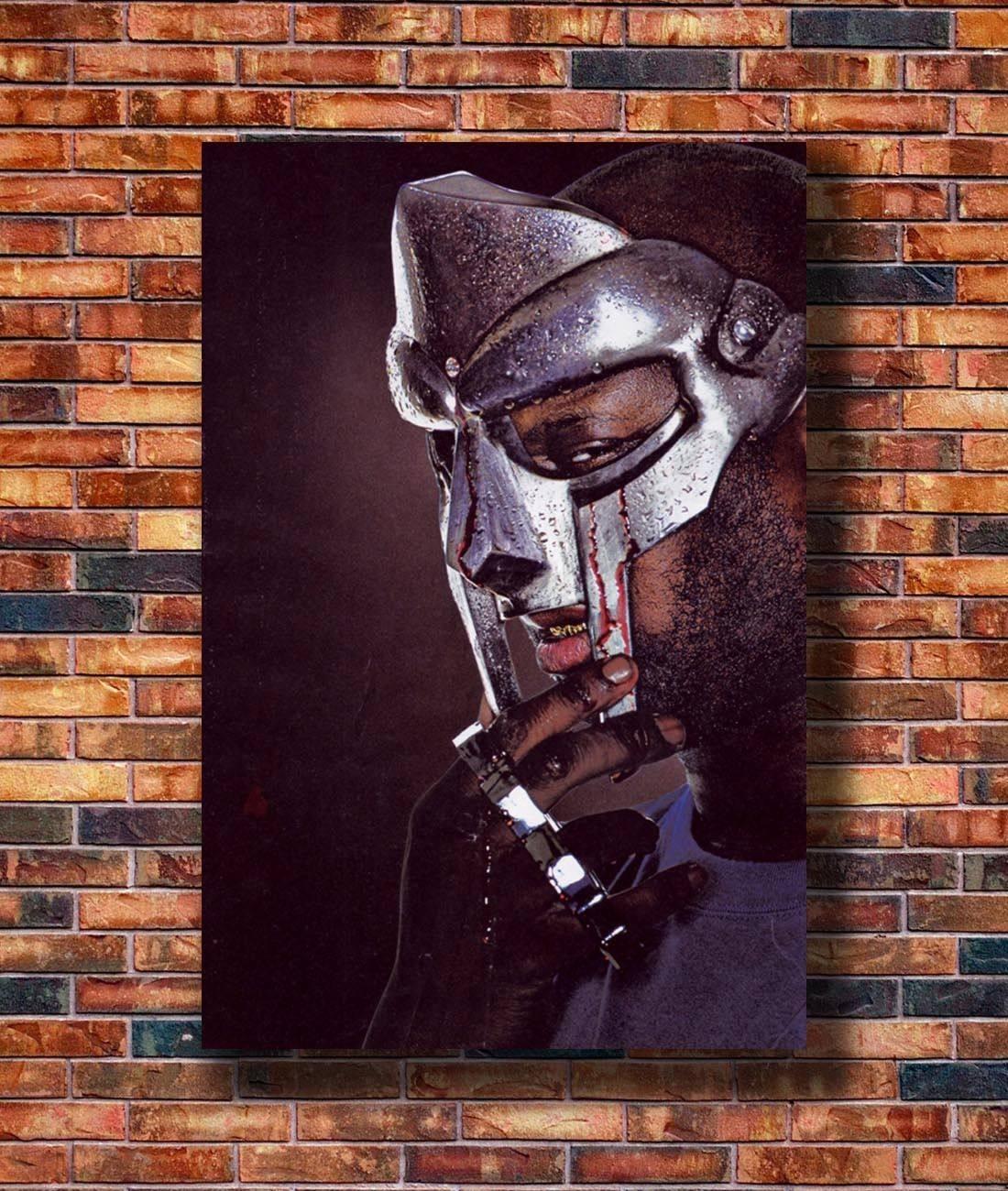 G-314 MF Doom The Illest Villains Hip Hop Rap Art Silk Poster 14x21 24x36