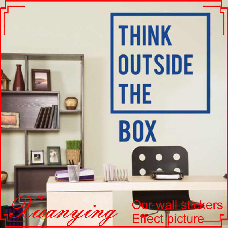 Inspirational Motivational Quotes Office Wall Decal Art Decor Wall Stickers Home Decor Living Room