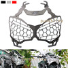 For KAWASAKI Z900 Z 900 2017 Motorcycle Accessories Headlight Grille Guard Cover Titanium