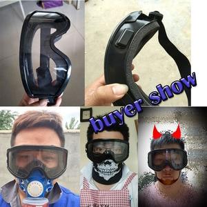Image 5 - Veiligheid Bril Tactische Bril Hoge Kwaliteit Anti Fog Anti Shock Shockproof en Stof Industriële Arbeid Beschermende Bril
