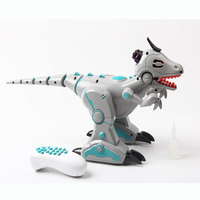 Remote Control Smoke Effect Intelligent Dinosaurs Electronic Intelligent Pets Education Toys RC Dinosaurs Models for Kids Gifts