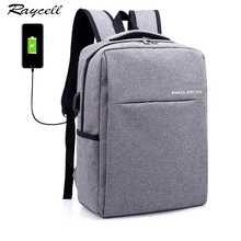 Fashion Men Backpacks With Anti-thief USB Charging 15.6 inch Laptop Business Backpack For Women Men School Backpack Book Bag