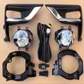 Набор передних противотуманных фар для Toyota Land Cruiser Prado FJ150 2018 ABS  аксессуары для автомобиля