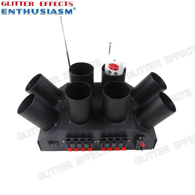 ELT08R 8 controle remoto canal esculpir fonte fria máquina de sistema de console para o casamento