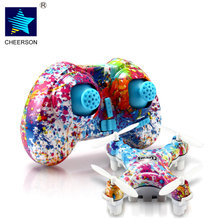 ФОТО cheerson cx-10d cx10ds multicopter mini drone dron 2.4g 4-axis with high hold mode led rc helicopter quadcopter children's toys