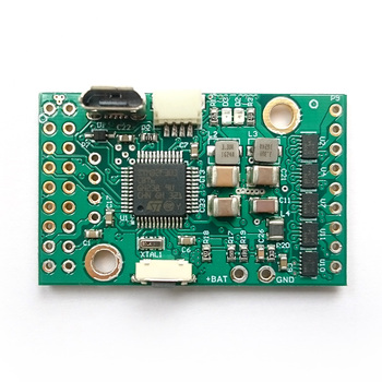 BaseCam SimpleBGC 32-bit Tiny I2C 2-IMU Set Revision B Alexmos 3 axis gimbal controller small encoder nacelle controller PCB