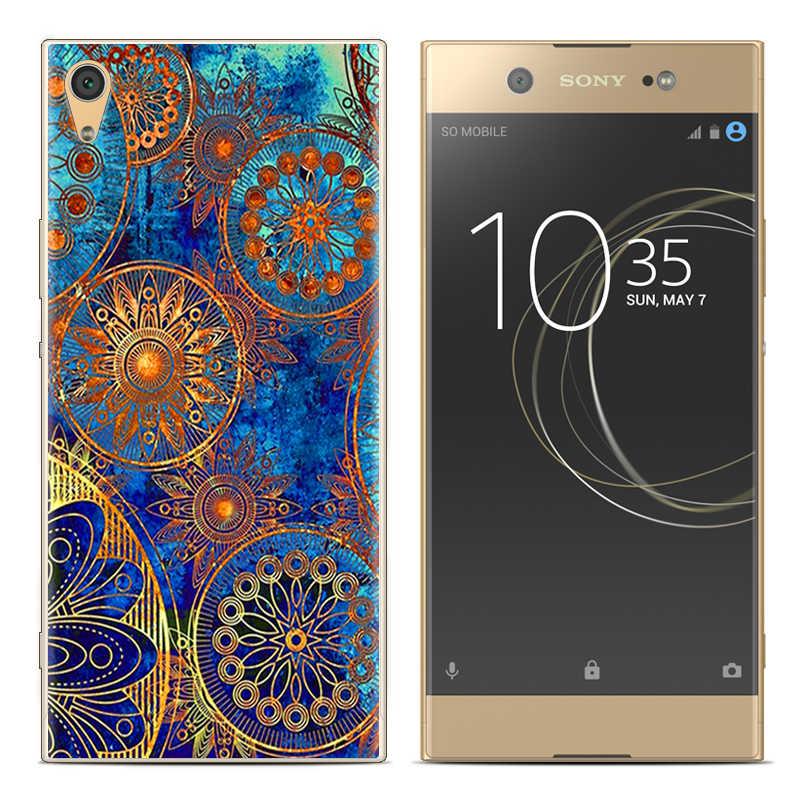 Cassa del telefono Per Sony Xperia XA1 G3112 G3116 G3121 G3123 G3125 5-pollici Sveglio Del Fumetto di Alta Qualità Dipinta TPU molle Della Copertura Del Silicone