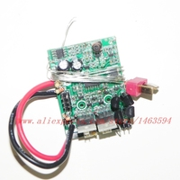 Wholesale GT Model QS8006 RC Helicopter Spare Parts Old version Receiver PCB board 27MHZ Free shipping