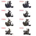 OCOOCOO Brass/Iron 8 Styles Coil Tattoo Gun Professional Tattoo Machine for Fight The Fog/Secant High Quality and Performance