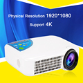 1920*1080 P 4 К android OS Wifi Bluetooth 1080 P HD Домашний Кинотеатр цифровой 3D HDMI СВЕТОДИОДНЫЙ Проектор Proyector Projetor Бимер