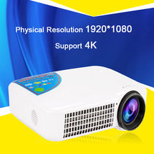 1920*1080 p 4 K android OS Wifi Bluetooth 1080 P HD de Cine En Casa digital 3D LED Proyector HDMI Proyector Projetor