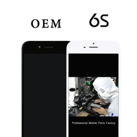 5pcs For iPhone 6S Top quality OEM LCD 4.7 premium Display Screen +Touch Digitizer Replacement Assembly+Camera Holder