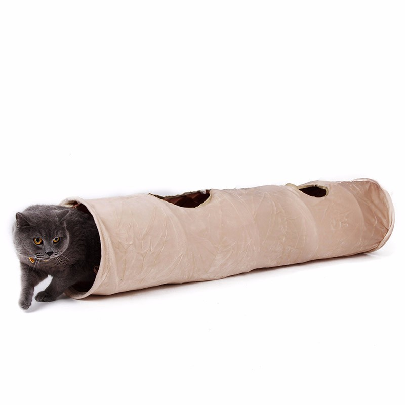 luxury cat tunnel Luxury Cat Tunnel-Suede Material,Soft And Durable-Free Shipping HTB1hckiKpXXXXbXXpXXq6xXFXXXG