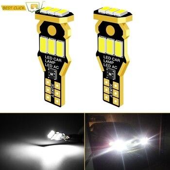 Xukey W16W T15 LED Luz de marcha atrás del coche 920 912 921 bombillas de cuña CAN-bus sideays estacionamiento T10 luces de respaldo HID blanco 9SMD