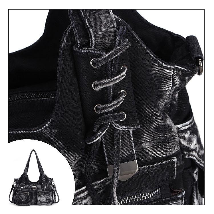 Sac à main Vintage Casual Denim de Jeans Fourre-Tout