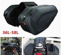 SA 212 Universal fit saddle Bags Luggage bags with Motorcycle raincoat komine 36 58L