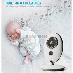 Image 4 - BOAVISION VB605 przenośny 2.4 Cal wyświetlacz LCD bezprzewodowy niania elektroniczna baby monitor radio wideo kamery niania domofon IR Bebe Cam Walkie mówić opiekunka do dziecka