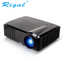 Rigal Projector RD806B LED Smart Projector Android WIFI 2800Lumens HD Beamer 720P Home Theater LED LCD 3D Video TV Projector