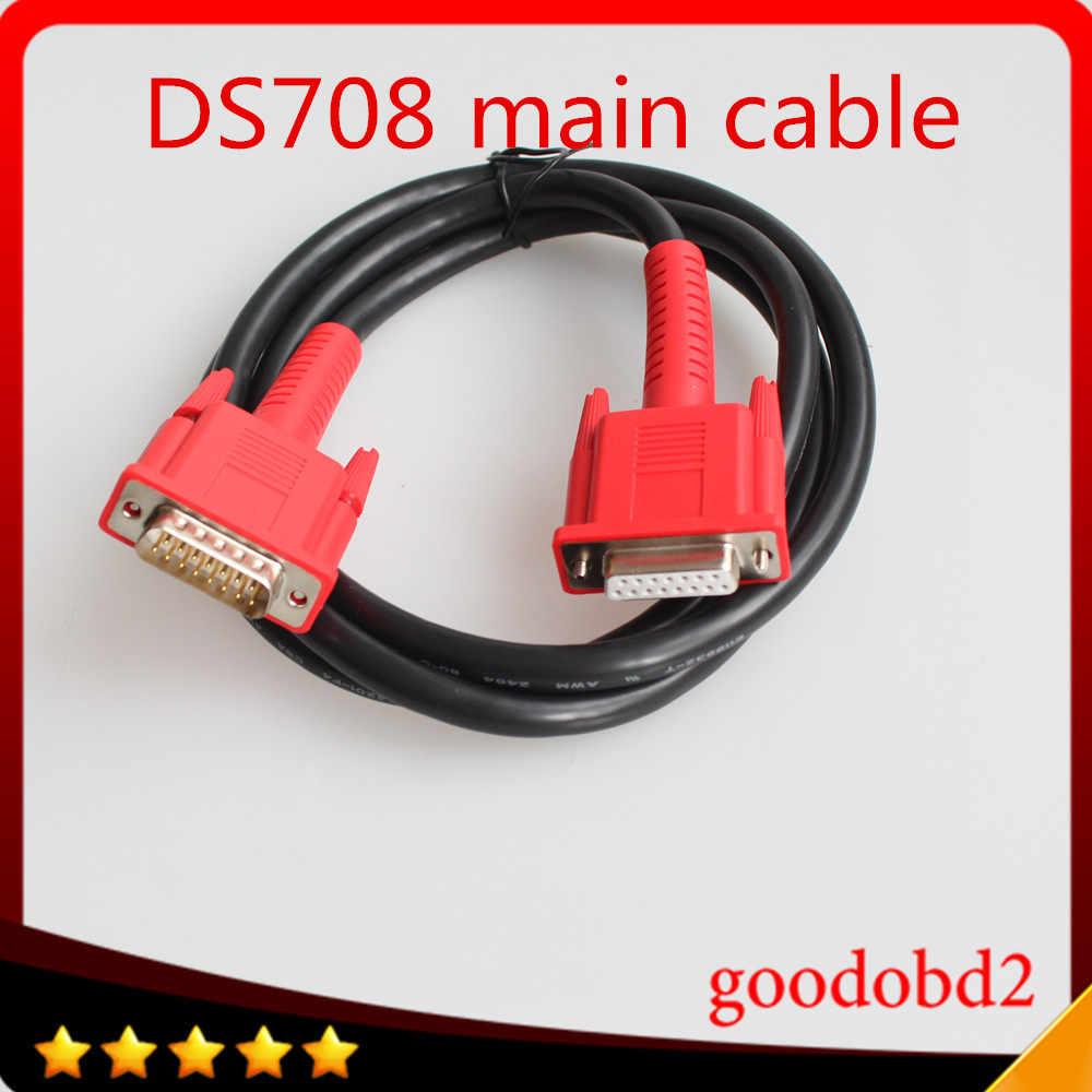 のためのautel maxidas ds708接続メインテストケーブル車の診断ツールobd2 16pinテスターケーブル接続ds708 diagosticポートケーブル