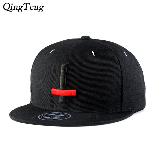 Cross Pattern Snapback Cap Crosses Embroidery Hip Hop Hat Fitted Hats For Men  Women New Fitted Hat Black Skateboard Sports Cap 0b720a0826f3