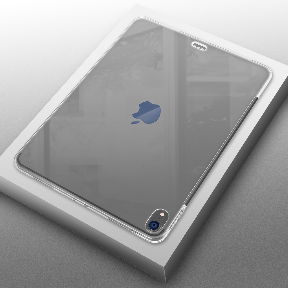 Transparent Cover For IPad Pro 12.9 2018 Case, AIYOPEEN Soft Silicone Case Full Protection For IPad 2018 Pro 12.9 Case