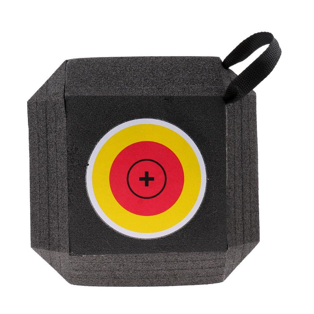 Nouveau tir à l'arc rouge bloc mousse cible composé arc classique et flèche cible de chasse