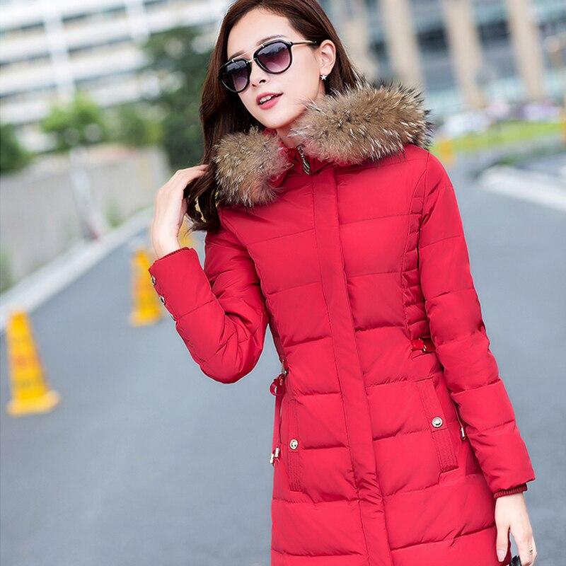 Fur Collar Long Female Coat Winter Jacket Women Cotton Womens Winter Jackets And Coats Parka Women Jackets Manteau Femme цены онлайн