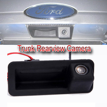 Trunk handle Car rear view Camera  CCD night vision Car Camera  For FORD Mondeo /FOCUS/Range Rover/Freelander 2