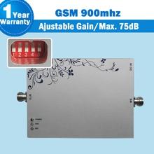 75dB Gain!! 2000sqm покрытие! GSM 900 Мобильный усилитель Сигнала Ретрансляторы GSM 900 мГц Сотовые Усилители Сигнала ALC MGC Мобильный Телефон Booster
