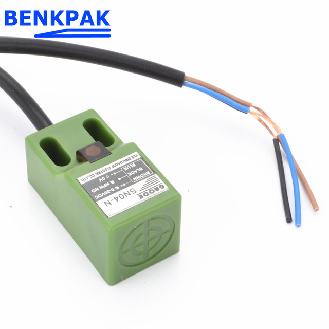 BENKPAK Fabrik Gaode SN04 SN04N 4mm Ansatz Sensor NPN, 3 draht ...