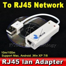 USB 2.0 to RJ45 LAN Network Ethernet Adapter Card For Smart TV Android Tablet pc Win XP 7 8 10 100Mbps