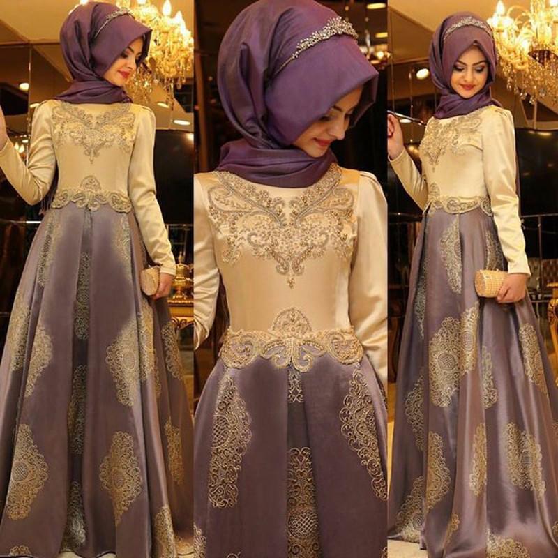 2017-Arabic-Evening-Gowns-Dresses-Women-Kaftan-Dubai-Hijab-Evening-Dresses-Appliques-Satin-Long-Sleeve-Muslim (1)