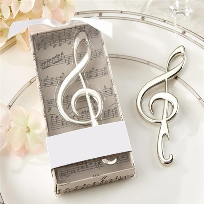 Music Note Personalized Bottle Opener Wedding Stainless Steel Beer Opener Abridor De Garrafa Cerveja Bar Tools Kitchen Gadgets