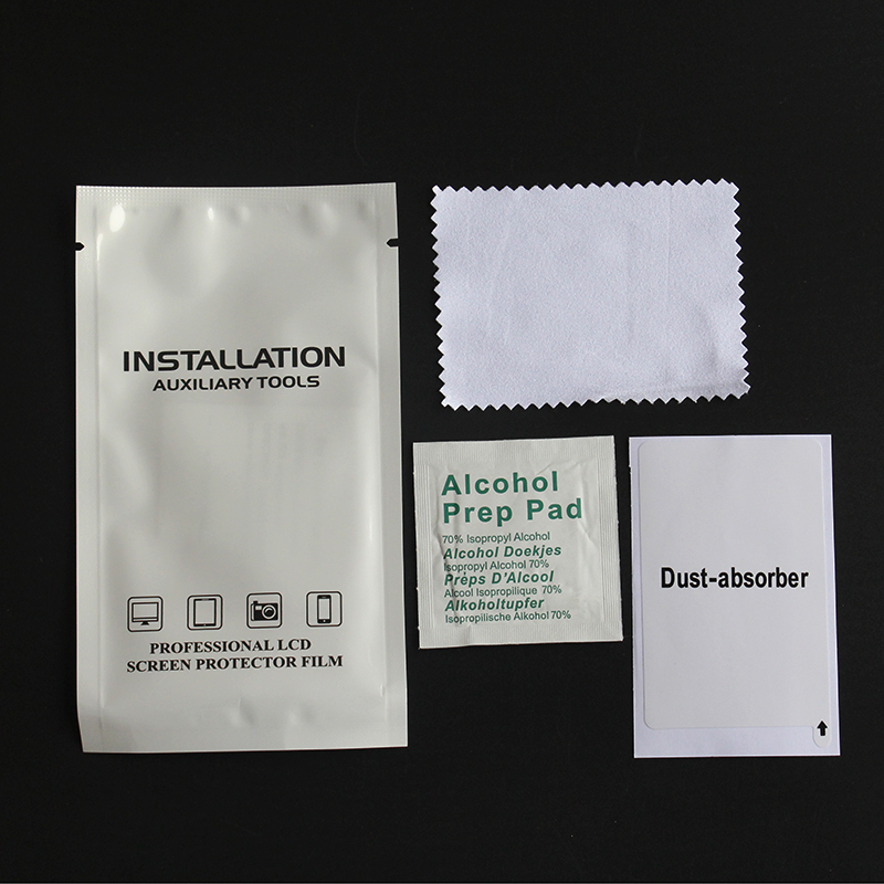 5Pcs/lot Wet Dry Wipes Cleaning Cloth for Tempered Glass Screen Protector for Camera Lens LCD Screens Dust Removal Papers