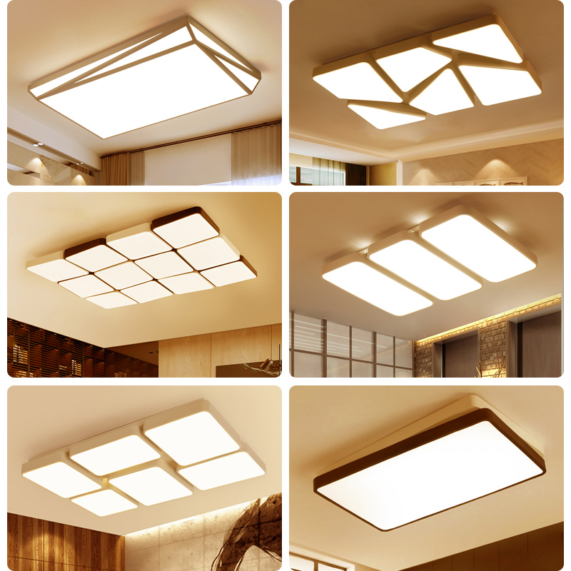 Modern LED living room ceiling lights Novelty fixtures illumination Acrylic ceiling lamps home bedroom ceiling lighting цена 2017