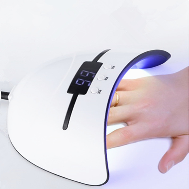 36w UV LED Light Nail Light Suitable for all gel nail dryers Polish Sunlight Infrared Sensor 30/60 / 99s Smart Manicure LED