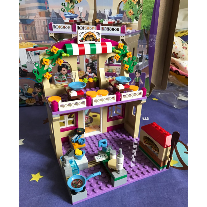 Complete Sets 41311 Lego Friends Heartlake Pizzeria