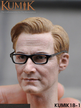 1/6 Scale KM18-1 Man Head Model Colin Firth Sculpt Harry Hart