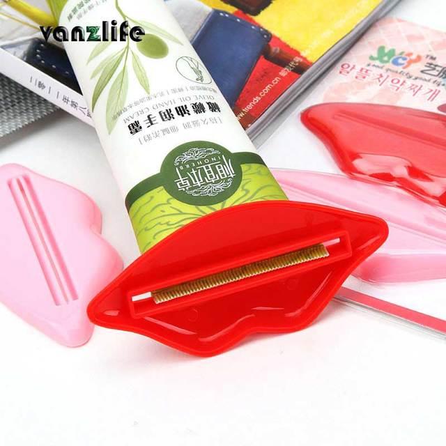 2 pcs un sacco/vanzlife Coreano labbra dentifricio estrusione stampaggio manuale