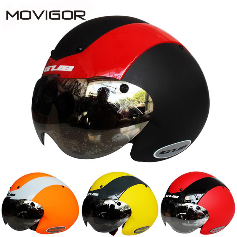 Movigor Multifunctional Cycling Bicycle Helmet Arena Helmet Integrally-molded MTB Road Bike Helmet with Lens 58-62cm, 4 Colors giant liv helmet road bike bicycle mtb cycling helmet three size ares 4 colors